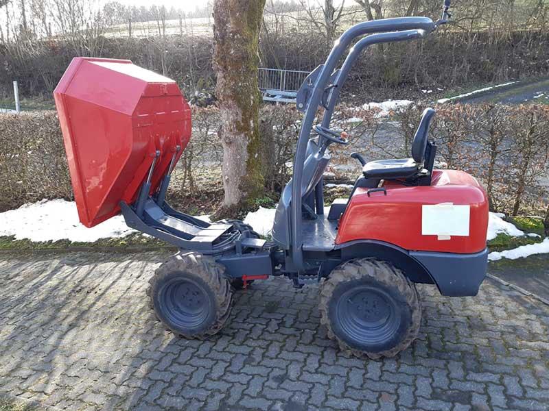 Ausa Drehkipp Muldendumper D120 4x4